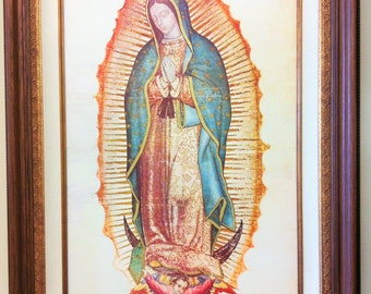"GUADALUPE - Original Oil-Painting - 24"" x 36"" Framed"