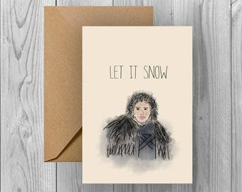 Christmas Card/Game of Thrones | Let It Snow