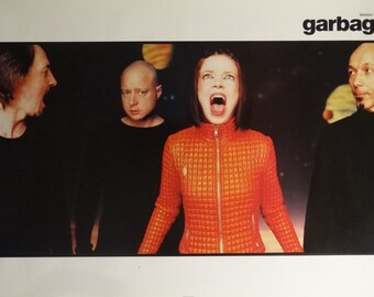 Garbage 23x34 Group Music Poster Shirley Manson