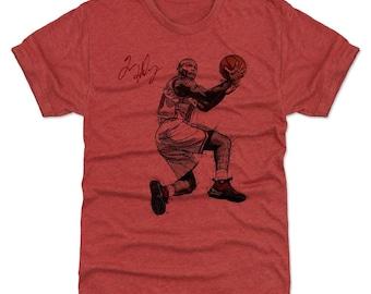Tim Hardaway Shirt | Miami Throwbacks | Men's Premium T-Shirt | Tim Hardaway Reverse Layup Miami