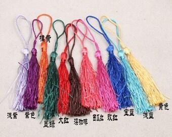 00032 30 pieces Tassel/earrings/hangings/accessories/handmade/DIY/eardrop/stud/material bags