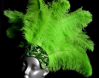 Carnival Feather Headdress