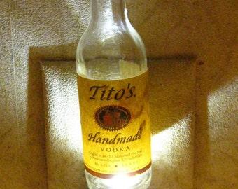 Tito's Handmade Vodka Night Light