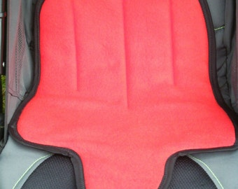 Kidz Potty Training Car Seat Pad- SOLID RED