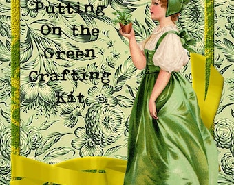 Putting on the Green Digital Crafting Kit