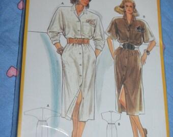 Burda 6000 Misses Dress Sewing Pattern - UNCUT - Size 8/10  12/14   16/18   20/40