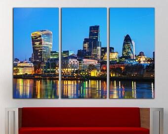 London print London canvas London wall art London wall decor London Photo London Home Decor London Art London City London Skyline London