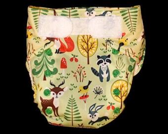 Woodland Friends AIO Cloth Diaper