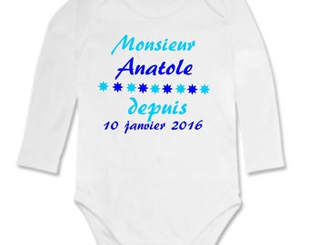 Mister Bodysuit for the... personalized with name