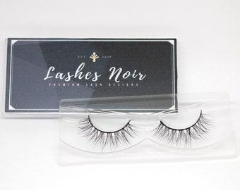 Glow Up - 3D Mink False Eyelashes 100% Mink Fur Handmade Lashes - by Lashes Noir