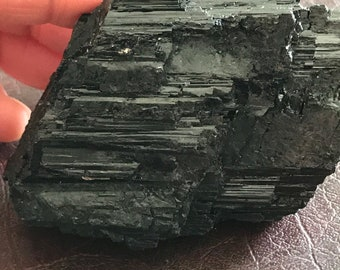 Black Tourmaline Crystal - Brazil