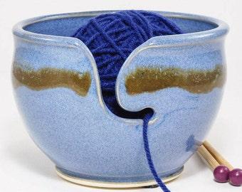 Crochet Bowl - Gift for Crocheting - Crochet Organizer - Crocheting Organizer - Crochet Caddy - Organiser Crocheting - Bowl Knitter -InStock