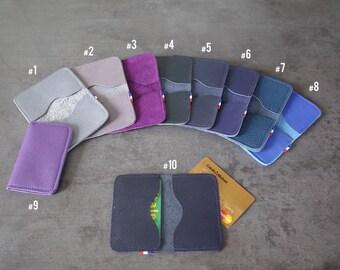 CARD cases - Double - purple/blue