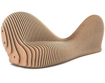 Sylva - CNC Cut Parametric Bench