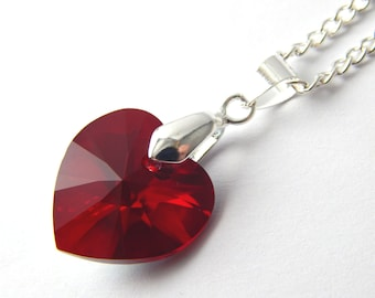 pendant red necklace at buy online low dp cinderella heart women for
