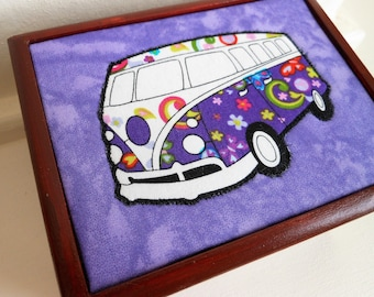 VW Campervan Wooden Jewellery/Storage/Trinket/Keepsake Box