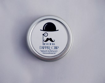 Dapper Chap Mustache Wax Unscented Classic for Facial Hair Shaping Generational Goods