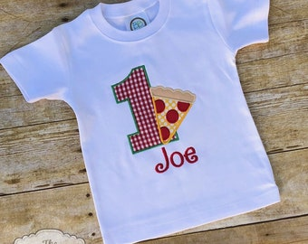 Pizza Party Birthday Shirt Outfit