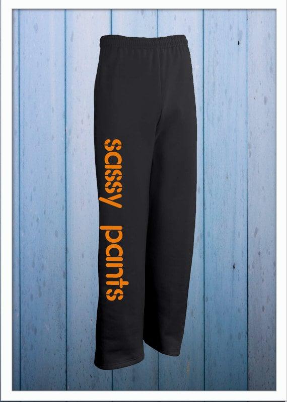 Sassy Pants Sweats - Big and Comfy Style - Boyfriend Style Unisex Sweatpants - Sassy Pants Lounge Pants - Pajama Pants - Warm cozy sweats cGy8yqih8