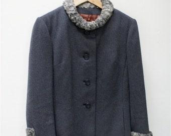 Sale 1950's Mad Men Wool Jacket