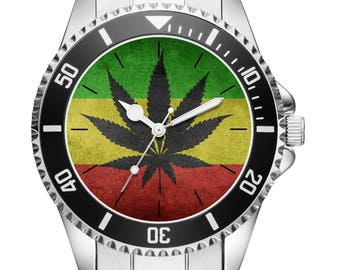 Gift for smokers Pothead Watch 6156