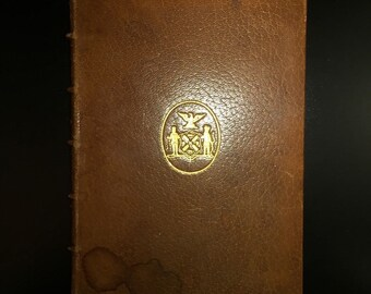 The Iconography of the Battery and Castle Garden, William Loring Andrews, 1st Ed., Limited 1/135, 1901