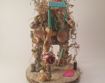 Handmade Fairy house - Fairy Garden - 711 Bay view Dr