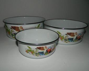 Metal nesting bowls | Etsy