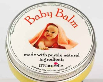 Natural Baby Balm with Lavender and Chamomile - 50ml
