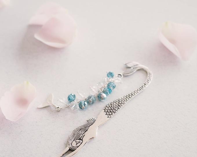Mermaid Waters Sparkly Beaded Bookmark.