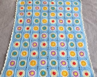 Baby blanket. Crochet blanket. Stroller blanket