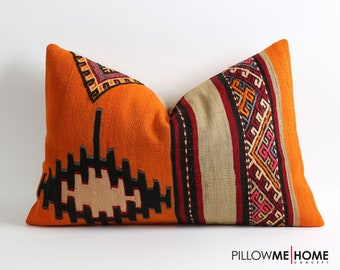 16x24 Lumbar Kilim Cushion Cover Kilim Pillows Etsy Tribal Pillow Case Floor Pillow Kilim Throw Pillow Sofa Pillows Bohemian Vintage Pillows