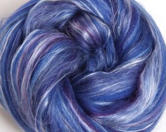 Silk/Merino blend Damson