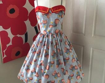 Custom Made to Order Disney Dumbo  Sweet Heart Dress Sz X-Small to 3X