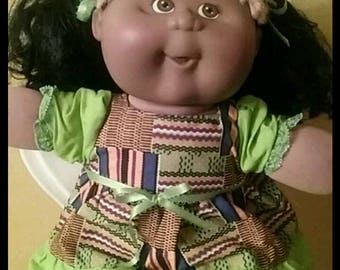 Afro American Cabbage Patch kids doll