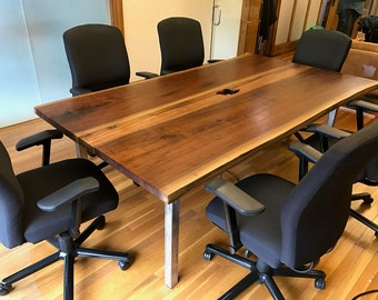 Conference Table Etsy - Conference room table power strip