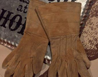 Vintage Little Buckaroo Child's Ranch Gloves
