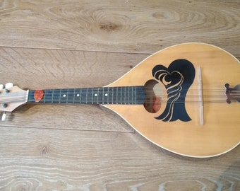 The old mandolin of the USSR.