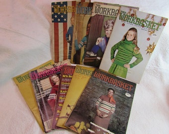 Collection of Workbasket and Home Arts Magazines, Group #3