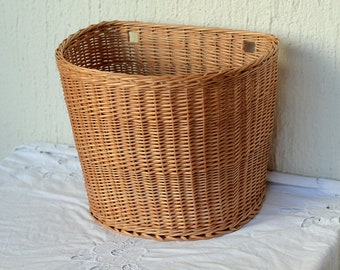 Wall Basket Hanging Basket Storage Wicker Basket Hanging Storage Mail Basket  Entryway Decor Door Basket Wall