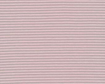 Stripe Pink - Interlock Knits - Organic Cotton - Cloud 9 Fabrics - 1 Yard