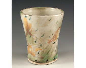From the Vault - Ceramic Cup by Jenny Mendes 1980