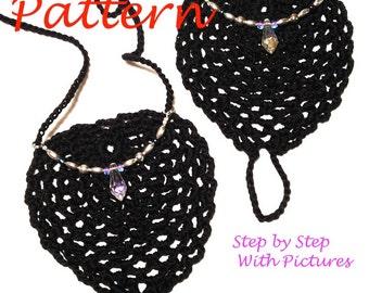 Immediate Download - PDF Crochet Pattern -  Serenity Barefoot Sandals