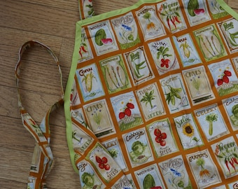 Cheerful Garden Apron