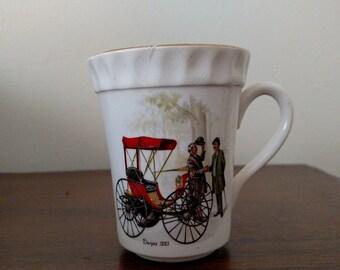 Staffordshire England Crown Mug