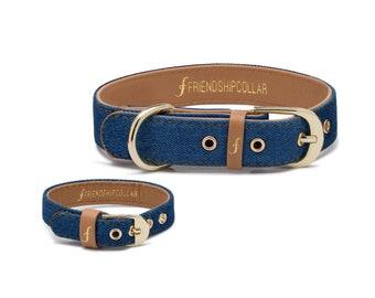 Friendship Collar FriendshipCollar- Great Genes – Mid Wash - Dog FriendshipCollar and matching friendship bracelet #friendshipcollar