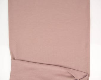 Blush Baby French Terry Knit Fabric by the yard FTK00494R