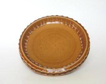 Pottery Serving Platter. Ceramic Serving Platter. Ceramic Cheese Plate. Stoneware Dinnerware. Decorative Serving Plate. Appetizer Tray Plate