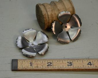 """1.75"""" Steel 5 petal flower"""