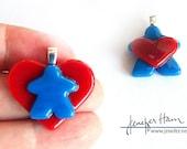 MEEPLE hearts! super cute...